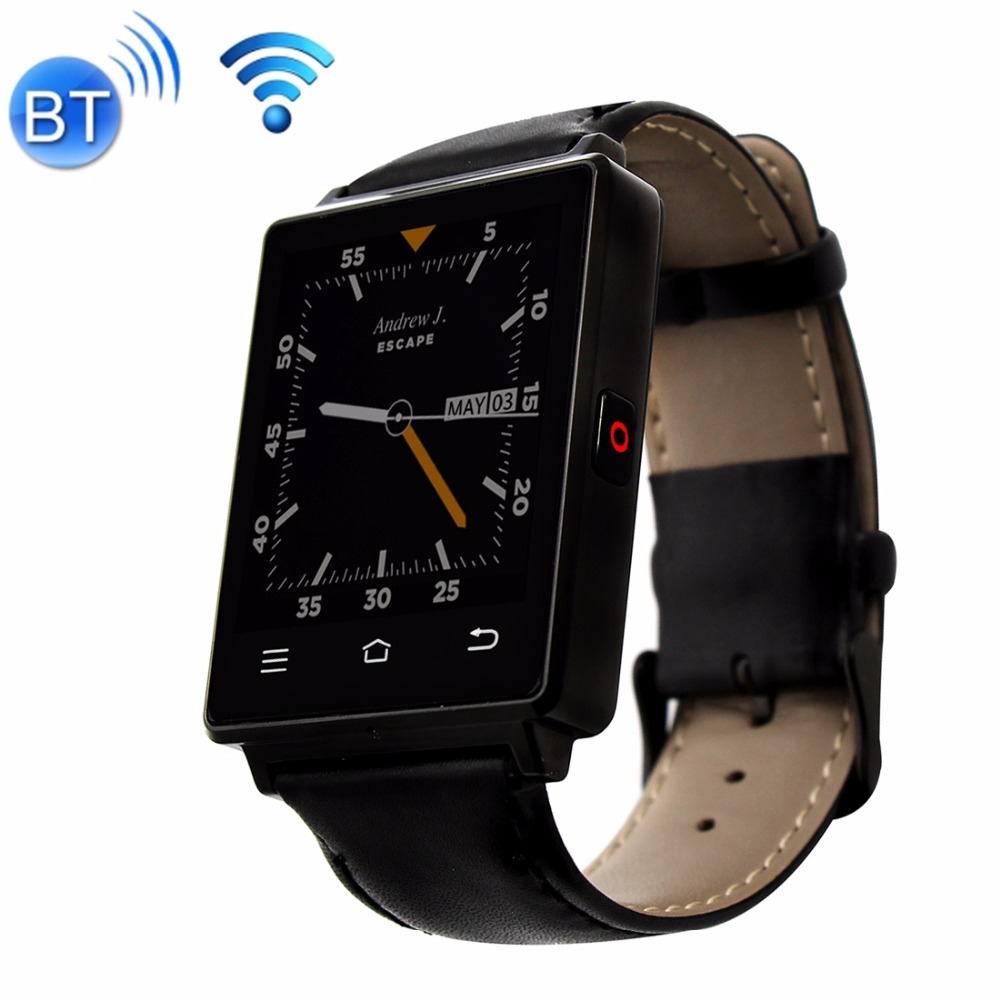 DTNO.1 D6 Smart Watch Phone, 1GB+8GB Support Heart Rate Monitor & Pedometer & GPS & WiFi & Bluetooth & FM radio& Recording 3g smart watch phone support sim card gps wifi fm heart rate monitor pedometer bluetooth camera touch screen z9 4gb rom android