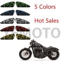 Motorcycle Decals 3d Skull Skull Bone Emblem Tank Traction For Harley All Models Paper Sticker