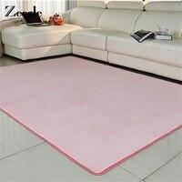 גודל גדול צמר אלמוגי Zeegle שטיח לסלון בית אזור חדר שטיח סופג השטיחים מטבח מחצלות רצפת חדר שינה ליד המיטה מחצלות