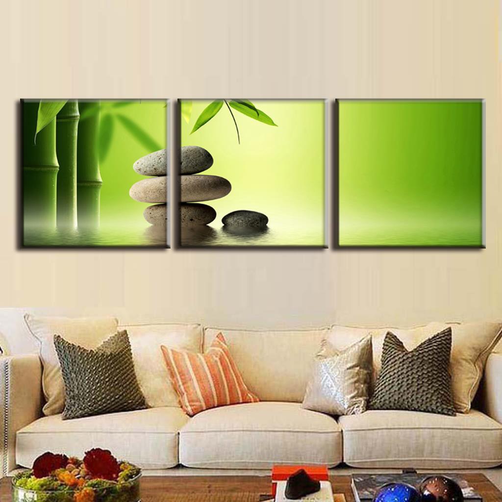 Groen canvas print koop goedkope groen canvas print loten van ...