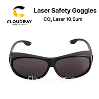 Cloudray 10600nm Laser Safety Goggles Style C OD4 CE Protective Goggles For CO2 Laser Cutting Engraving