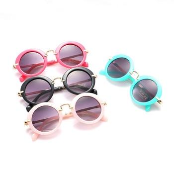 Glitztxunk Fashion Round Kids Sunglasses...