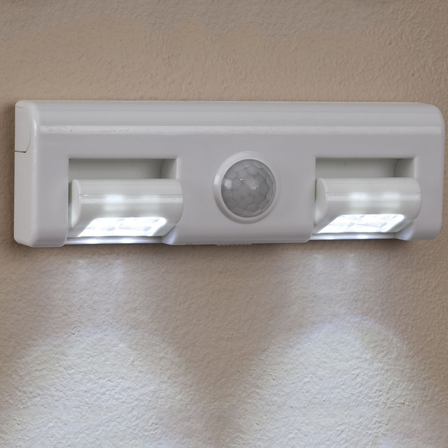 led draadloze bewegingssensor geactiveerd nachtlampje voor kast lade trap tafel bureau sensor wandlamp verlichting batterij