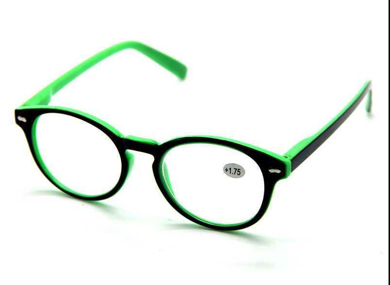 fashion trend colors rimmed reading glasses