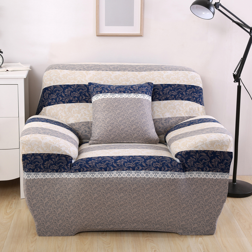 Europe Flora Stretch Furniture Covers Blankets For Sofa