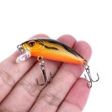 HENGJIA Minnow рыболовные приманки 5 см 3,6 г плавающие Isca Япония жесткая приманка для окуня Topwater Pesca воблеры Crankbait рыболовные снасти