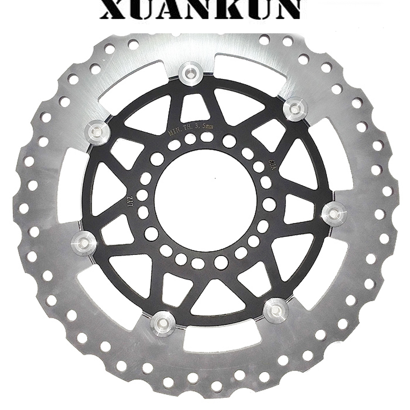 XUANKUN Motorcycle Accessories 650NK Front Brake Disc 400NK TR CFMOTO запчасти для мотоциклов cfmoto 650nk