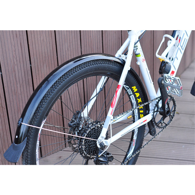 Bicycle Fenders Black Mountain Bike Front//Rear Fender Cycling Mudguard Wings Kit