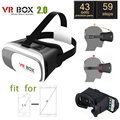 """3D VR Очки на головке Виртуальной Реальности Очки, чтобы Смотреть 3D Фильмы для 3.5 """"-6.0"""" Смартфон Анти-головокружение Suitble для путешествий"""