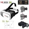 """3D VR Gafas montado en la Cabeza Gafas de Realidad Virtual para Ver Películas En 3D para 3.5 """"-6.0"""" Suitble para viajes Móvil Anti-mareado"""