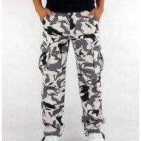 ICPANS Cargo Pants Camouflage Full Length 2017 Spring Multy Camo Pants Cargo Hip Hop Pants Men Women Streetwear Male Toursers