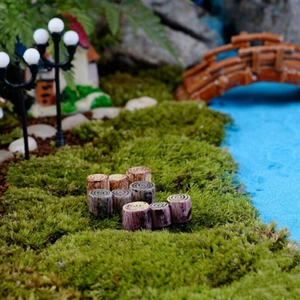 30pcs mini-licorne miniature figurine fée jardin dollhouse ornements