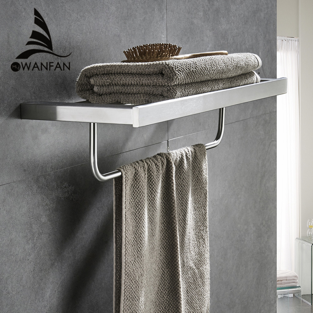 Bathroom shelves metal stainless steel wall bath shelf - Bathroom shelves stainless steel ...