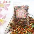 10000 unids/bolsa de agua de polímero de suelo de cristal flor/boda/decoración bolas de agua de cultivo