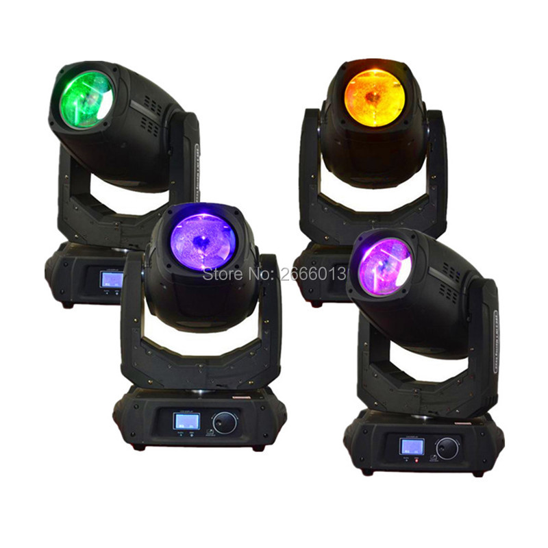 4pcs 280W LED Beam Spot Wash 3in1 Moving Head Light 280w Beam light 10R DMX stage effect lights laser factory sale Best quality laser head owx8060 owy8075 onp8170