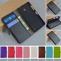 МЛАДШИЙ Высокое качество PU Кожаный Чехол Для Nokia Lumia 630 635 Case Флип Бумажник Телефон Случаях С Держателем Карты В на складе