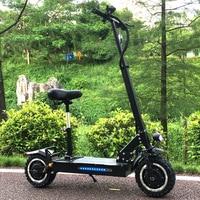FLJ Электрический скутер для взрослых с 60 в/3200 Вт моторы мощный самокат fat tire складные электрические скутеры для взрослых