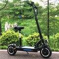 FLJ Adulto Scooter Elettrico con 60 V/3200 W Motori Potente Scooter calcio fat tire Pieghevole scooter elettrici adulti