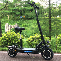 FLJ Adult Electric Scooter with 60V/3200W Motors Powerful Kick Scooter fat tire Foldable electric scooters adults