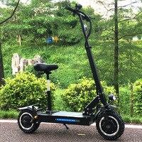 Scooter Eléctrico para adultos FLJ con motores de 60 V/3200 W potente neumático de grasa de patinete plegable scooters eléctricos adultos