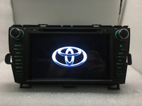 8inch Android 6 0 Quad Core 1024 600 DVD Player For Toyota Prius 2009 2012 2din