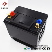 12V 60AH LiFePo4 Lithium iron Phosphate LFP Battery Pack BMS Inside for Car Vehicle Battery 800 Ampere CCA Wholesale ODM OEM