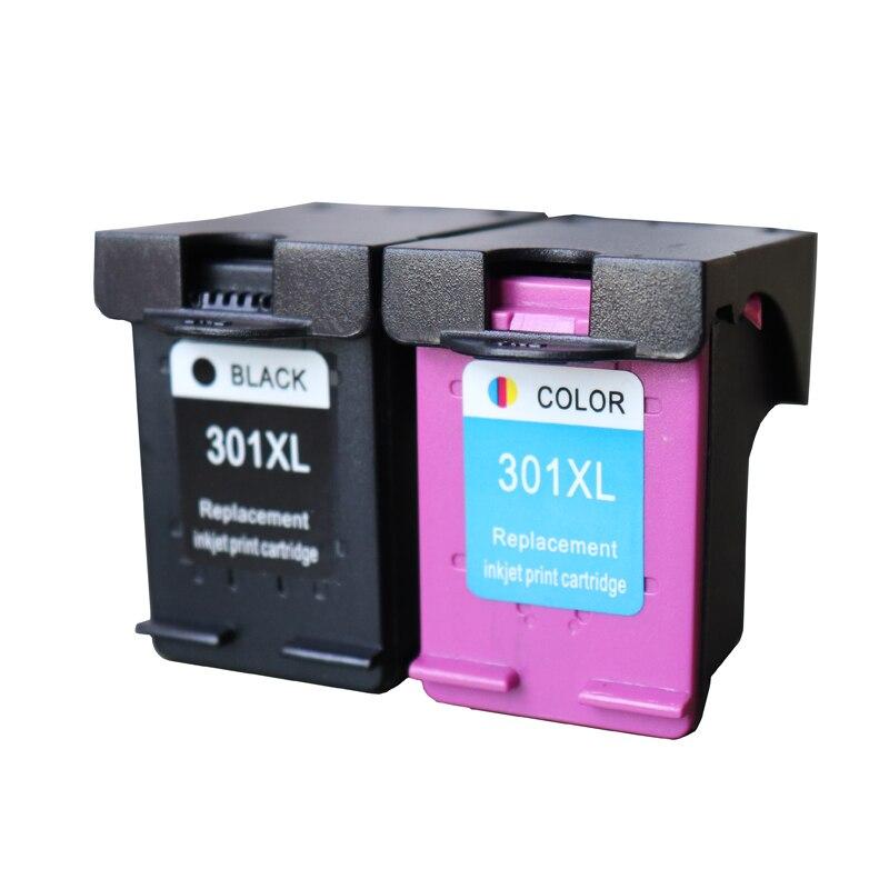 2 Pack 301XL Tintenpatrone Ersatz für hp301 HP 301 xl CH563EE CH564EE...