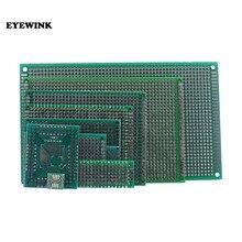 2x8 3x7 4x6 5x7 6x8 7x9 8x12 9x15 TQFP SOP8 Double face Prototype PCB carte électronique universelle carte de test de trou de Protoboard