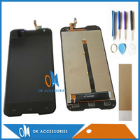Black White Color For Blackview BV5000 LCD Display Touch Screen Digitizer Sensor Glass Assembly With Tools
