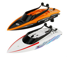 3323 RC Boat 2.4G Innovative Children Toy Water Toys 4-channel Waterproof Electric Racing Speedboat for Summer