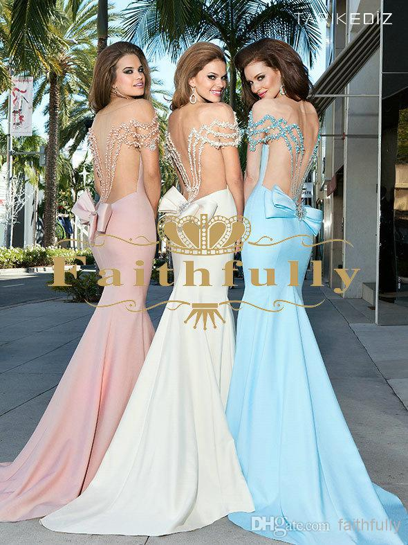 free shipping 2018 fashion hot sexy colorful pearls vestido de fasta long mermaid party prom gown Homecoming   bridesmaid     dresses