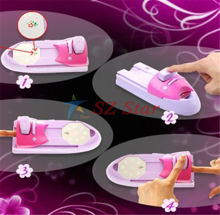 Tv Hot Hollywood Nails All In One Nail Art System Professional Art