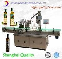 olive oil filling machine,2 nozzles 1L,essential oil filling machine,3 in 1,washing filling capping machine,CE