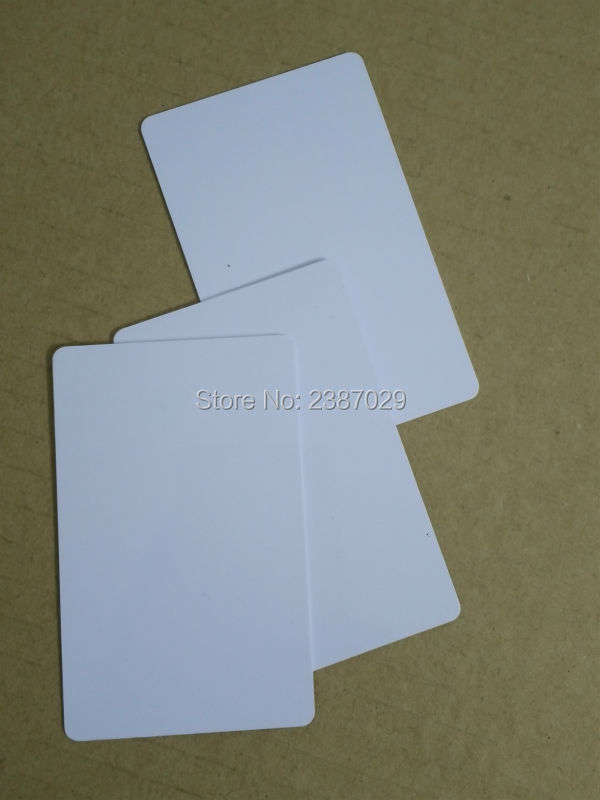RFID 125KHZ PVC Card Inkjet Blank Business Card for Printer 200pcs/lot 230pcs lot inkjet printable blank pvc card for epson printer canon printer credit card size