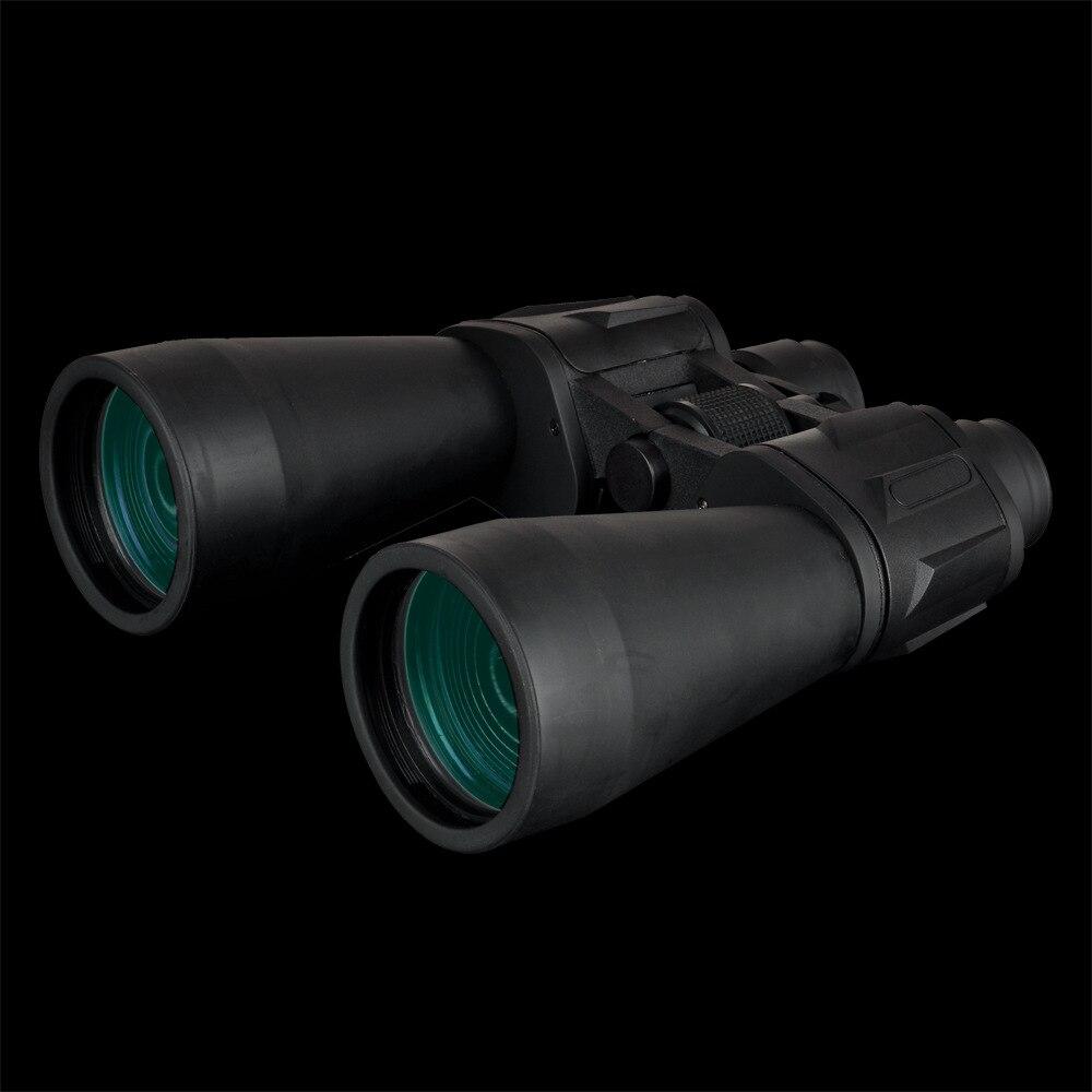 30X60 grand diamètre jumelles grand angle HD puissance BAK7 prisme lentilles optiques télescope Portable main extérieure longue portée