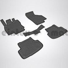 Резиновые коврики для Audi A3 (2012-2018) Seintex 85224
