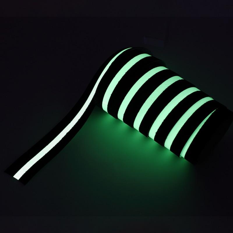 3m Length Wall Stickers Glow Dark Fluorescent Stairs Sticker DIY Warning Luminous Adhesive Strip
