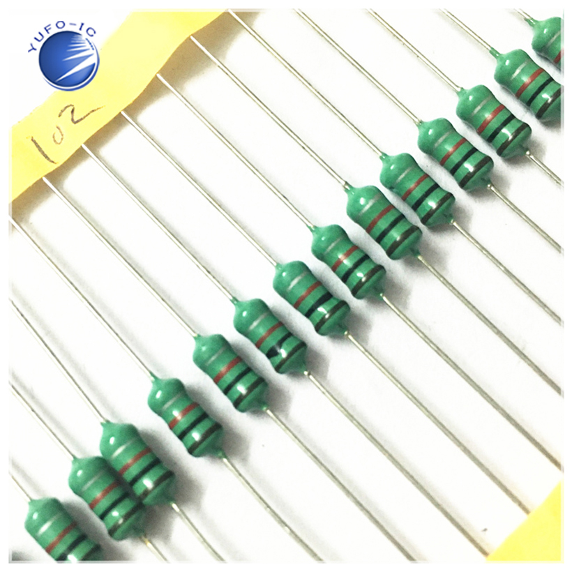 20Pcs 1w 1MH 102K Color Code Inductance Inductor 0510 1MH 102K 102