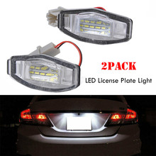 Direct Fit White LED License Plate Light Lamps For Acura TL TSX Honda Civic, etc For Honda Civic License Plate Light