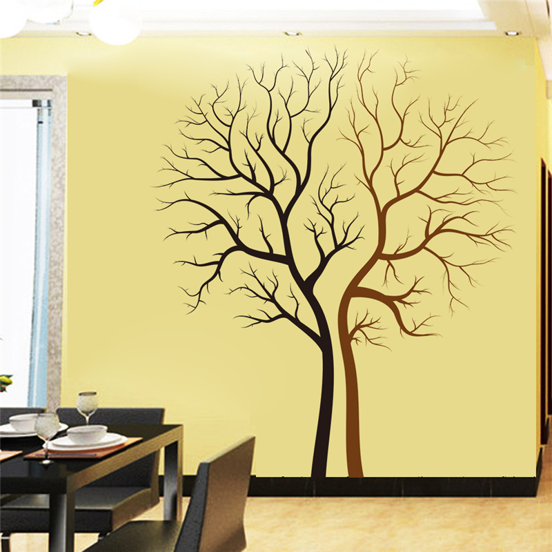 Perfect Aliexpress.com : Buy Newest Trees Wall Stickers For Living Room Bedroom  Home Decor Decals Black And Brown Removable Art Diy Vinyl From Reliable  Tree Wall ...