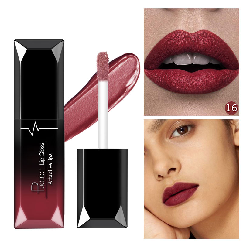 Pudaier 21 Colors Natural Matte Lipsticks Long Lasting Perfect Tint Matt Lip Makeup