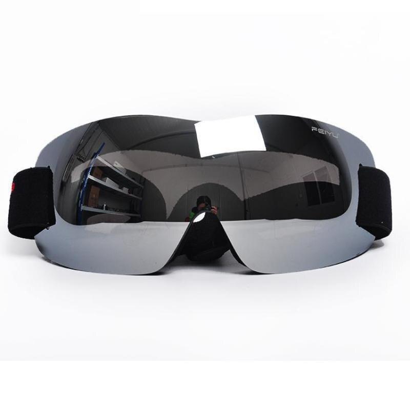 New Frameless Single Layer Ski Goggles Ski Climbing Outdoor Riding Goggles Men Women Children Large Spherical Glasses Myopia