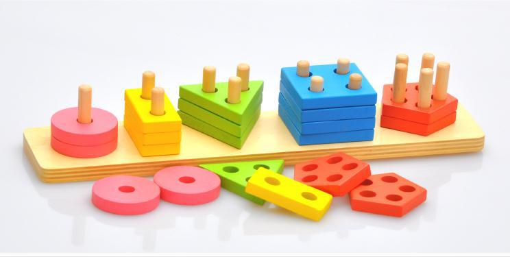 Aliexpress.com : Buy Itemship Montessori Early learning aid shape ...