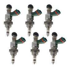 цены New 6x Fuel Injectors For Lexus IS 250 IS250 GS300 23250-31020 Mark Brown