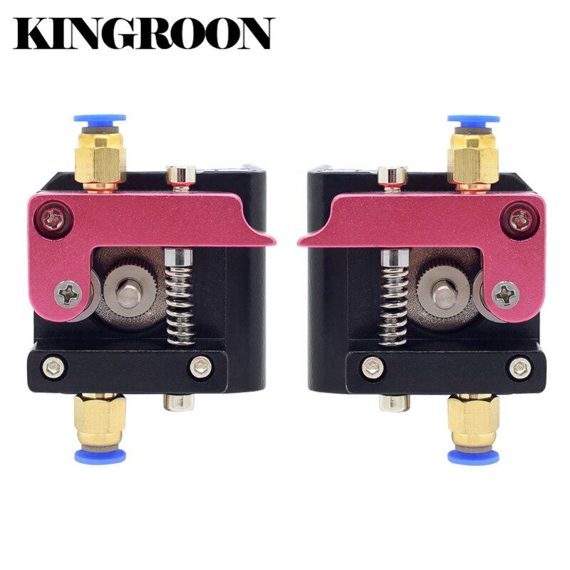 Mk8 extrusor remoto aleación de aluminio izquierda derecha brazo parte para 1.75mm filamento extrusión Impresoras piezas rojo Bowden
