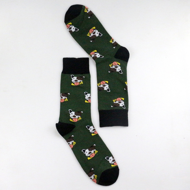 Unisex Casual Cartoon Dogs Printed Socks