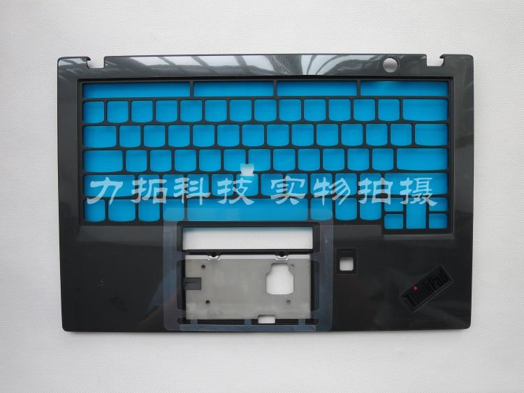 New/Orig for Lenovo ThinkPad X1 Carbon 6th 2018 20KH 20KG Keyboard Bezel Palmrest Cover AM16R000300 laptop lenovo thinkpad x1 carbon type 34xx keyboard win8 backlit palmrest cover icelandic 00ht016 portuguese 00ht022