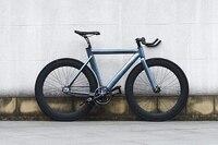 Развитие велосипед фиксированных передач велосипед 1 шт. fixie велосипедов Fixed gear велосипед 53 см Рамка DIY мышечный каркас Алюминий сплав 700C frame