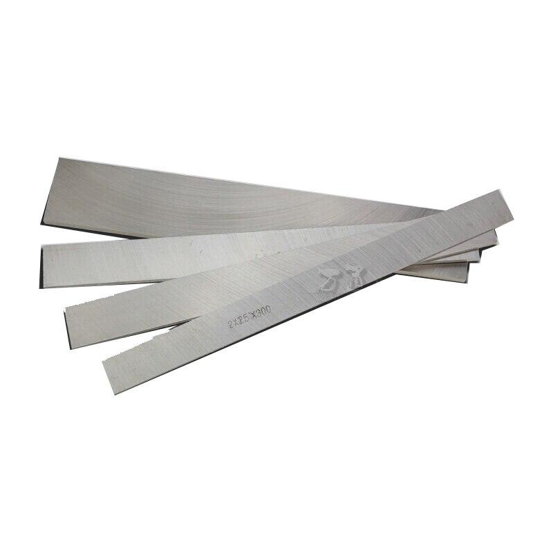 300*40*3mm de alta dureza de acero blanco HRC 60 cortador blanco dardos cuchillo embrionarias de alta velocidad de acero de embrión de cuchillo de hoja de material