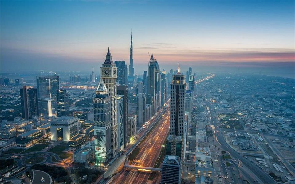Dubai skyline wallpaper images for 3d wallpaper for living room in dubai